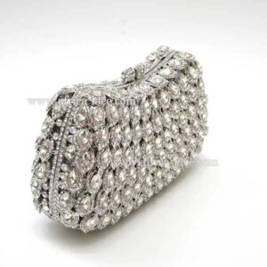 Luxury clutch evening bags Ladies crystal diamonds party bag