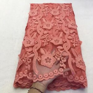 high quality tulle lace fabric in net lace