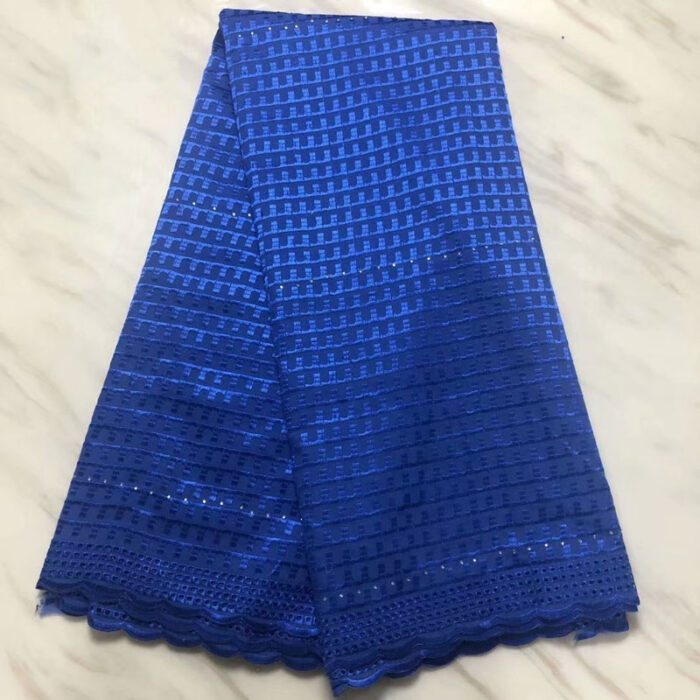 5 yards plain Polish cotton lace African Swiss voile Lace fabric