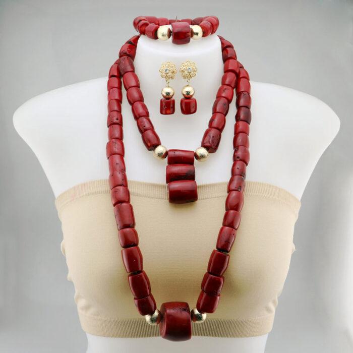 Necklaces Pendants Women Jewelry african beads jewelry set
