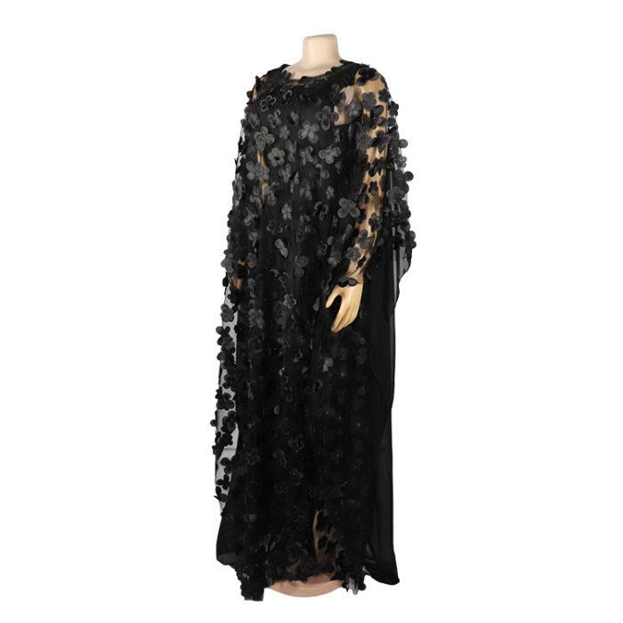 Hot selling long dress in chiffon fabric soft material women dress