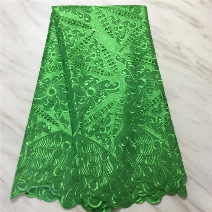 Swiss voile lace fabric cotton material promotional price 5 yards/lot