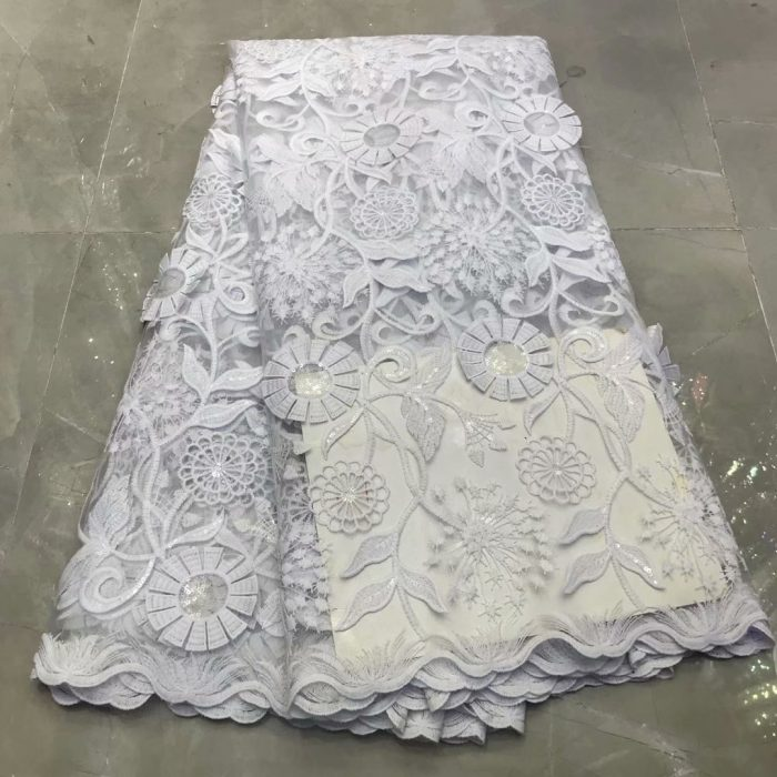 tulle net lace fabric for bridal lace fabric